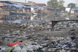 Poor area of Jakarta