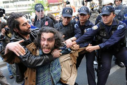 May Day Labor Protest-Turkey