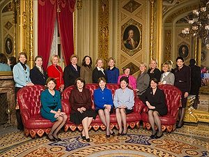 Current female senators