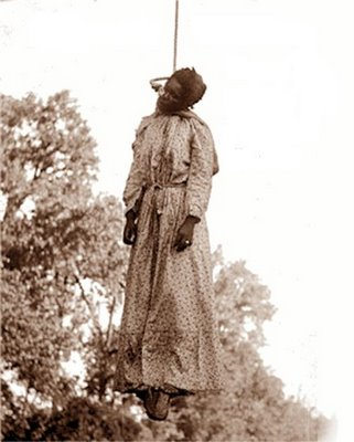 Lynched Black woman