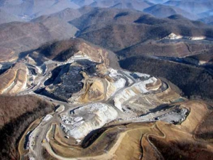 mountaintop removal coal extraction