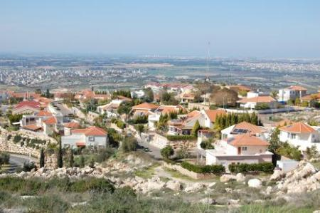 Israeli settlement in occupied territory